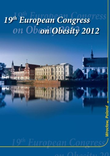 19th European Congress on Obesity 2012