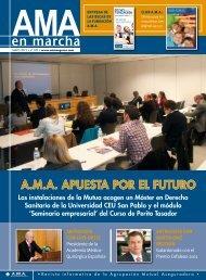A.M.A. APUESTA POR EL FUTURO - Área de Mutualistas