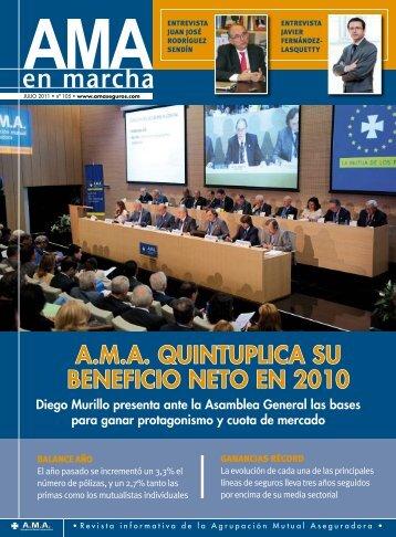 BENEFICIO NETO EN 2010