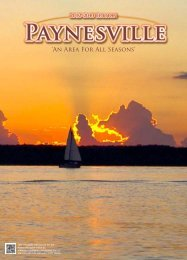 2012 Calendar of events - Paynesville Area Online