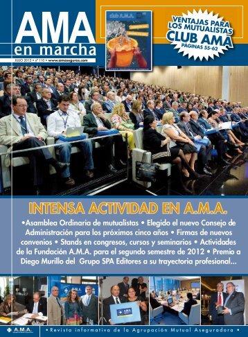 INTENSA ACTIVIDAD EN A.M.A. - Área de Mutualistas