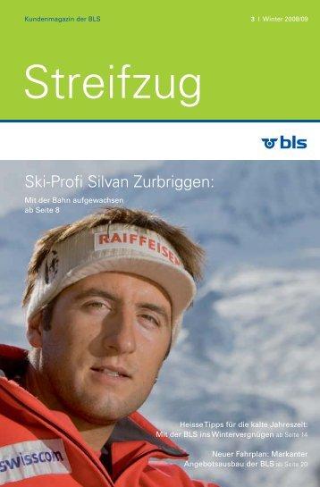 Ski-Profi Silvan Zurbriggen: - BLS AG