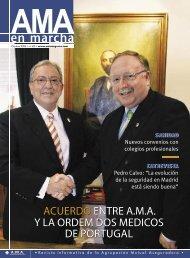 ACUERDO ENTRE A.M.A Y LA ORDEM DOS MEDICOS DE PORTUGAL