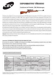 Carabinas de Pressão CBC Montenegro