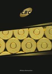 Military Ammunition Catalog - English - CBC