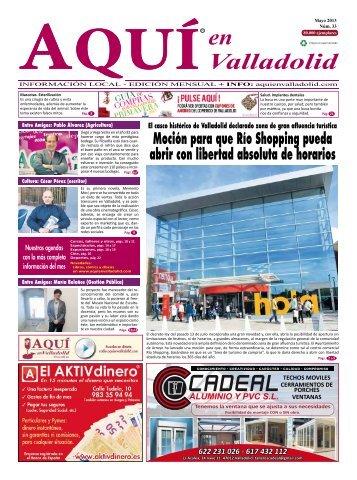 Mayo 2013 - noticias.aquienva... - AQUÍ en Valladolid