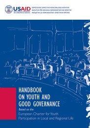 HANDBOOK ON YOUTH AND GOOD GOVERNANCE