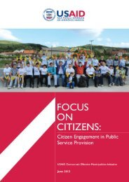 Why engage citizens in service delivery? - Demi USAID