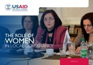 THE ROLE OF - Demi USAID