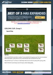GEELONG CUP Group 3