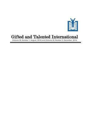 Gifted and Talented International