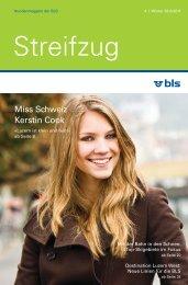 Miss Schweiz Kerstin Cook - BLS AG