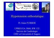 Hypotension orthostatique