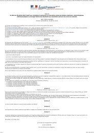 Arrêté du 26 juillet 2010 relatif aux modalités d'admission en ...