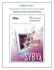SYBYL -X 2.1 - Certara