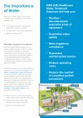 Pure Water Solutions and Services for the Healthcare Market - Page 2