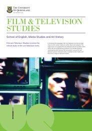 FILM & TELEVISION STUDIES