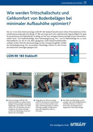 Wie werden Trittschallschutz und Gehkomfort von Bodenbelägen ...