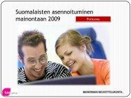 mainontaan 2009