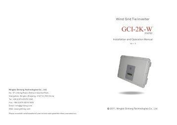 GCI-2K-W