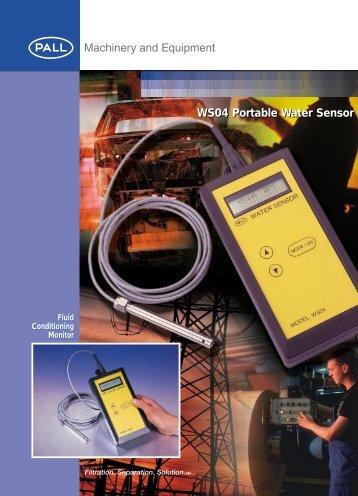 WS04 Portable Water Sensor