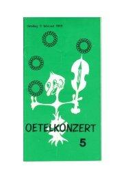 5e Oetelkonzèrt 1969