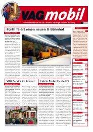 Fürth feiert einen neuen U-Bahnhof - VAG