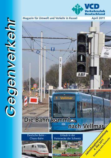 Die Bahn kommt... nach Vellmar - VCD