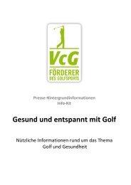 Gesund und entspannt mit Golf - VcG