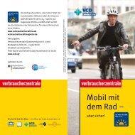 Mobil mit dem Rad - aber sicher! - VCD