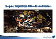 emergency preparedness and mines rescue guidelines - CORESafety