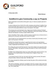 Guildford to give Community a say on Projects