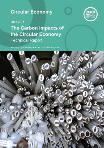 Circular Economy The Carbon Impacts of the Circular Economy