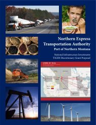 Northern Express Transportation Authority - Port of Northern Montana