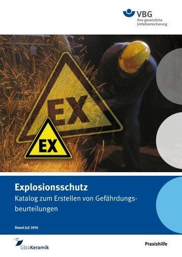 Explosionsschutz - VBG