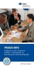 PRAXIS-INFO - VBG