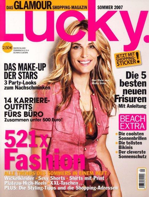 Lucky – Das GLAMOUR Shopping Magazin Artikel