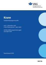 Krane - VBG