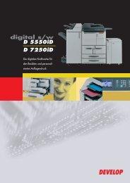 D 5550iD und D 7250iD