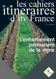 L'enherbement - Institut Francais de la Vigne et du Vin