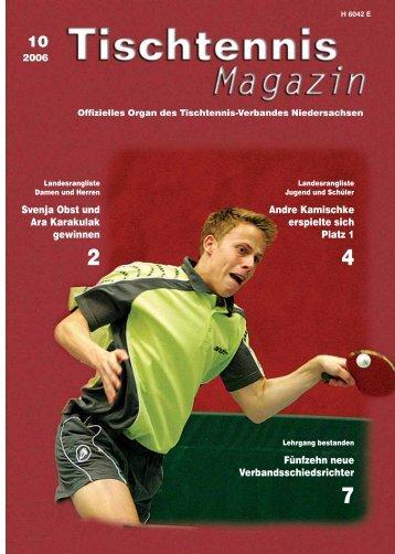 Svenja Obst und Ara Karakulak gewinnen Andre Kamischke - TTVN