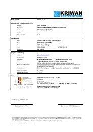 der entsprechende Prüfbericht als Download - UGA System Technik