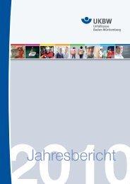 Jahresbericht 2010 -  Unfallkasse Baden-Württemberg