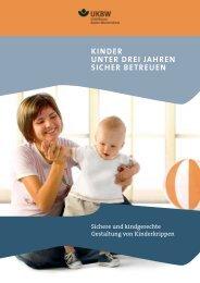 Kinder unter drei Jahren sicher betreuen.pdf - Unfallkasse Baden ...