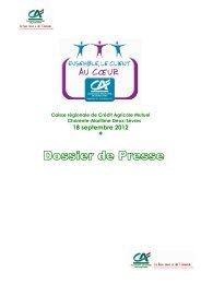 Téléchargez le dossier de presse du 18 septembre 2012