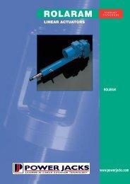 Working Applications for Rolaram Actuators