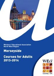 Merseyside Courses for Adults