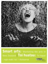 Smart Arts - Creative New Zealand