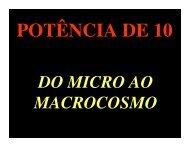 POTÊNCIA DE 10