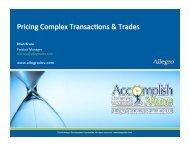 Pricing-Complex-Tran.. - Allegro Development Corporation